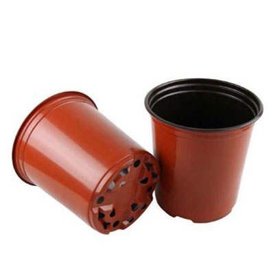16cm(top dia) x 16.2cm(height) grow pots