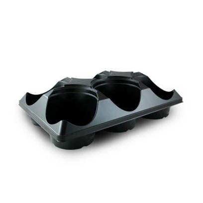 Plastic ST550-6 round carry trays